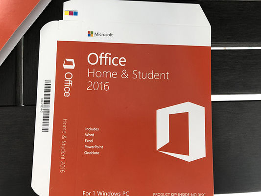 Chine MS Office carte principale de 2016 à la maison et d'étudiant, version 2016 principale de produit de Microsoft Office pleine distributeur